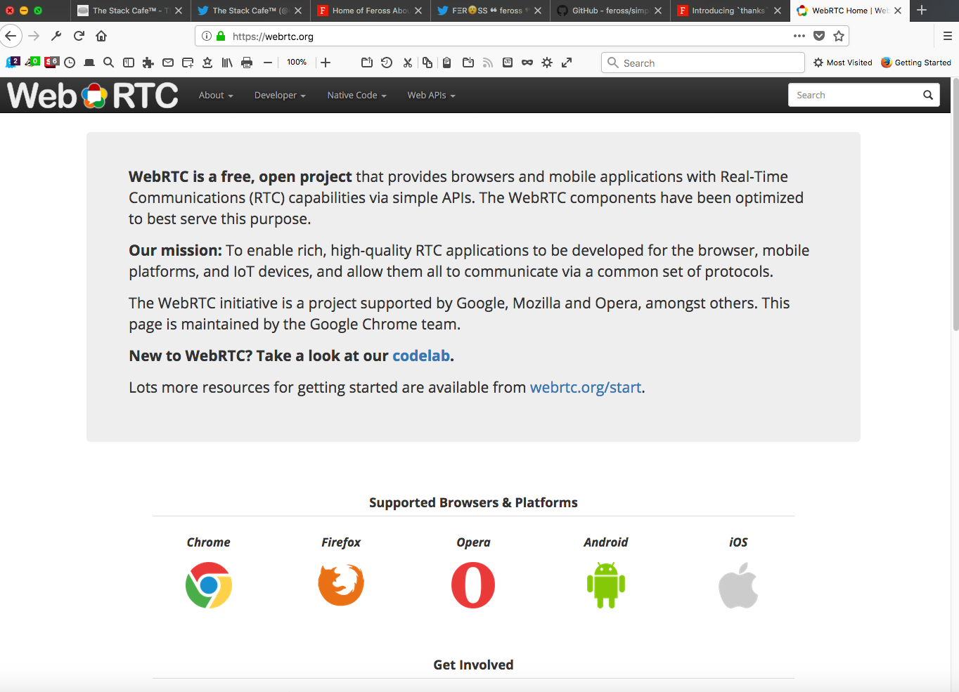 WebRTC - The Stack Cafe™